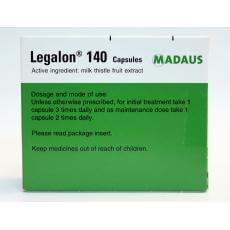 legalon 140 cápsulas para la protección hepática